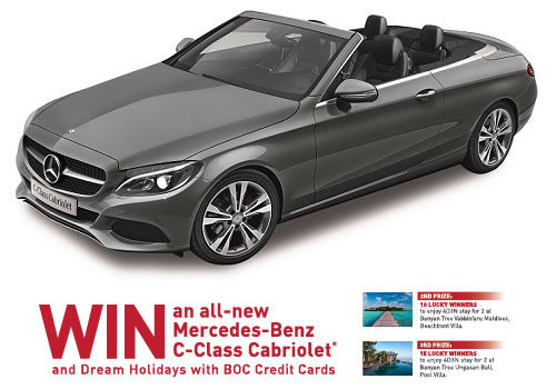 Win an all new mercedes benz c 180 cabriolet or dream for Win a mercedes benz
